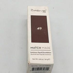 The Creme Shop Match Made Liquid Foundation 49
